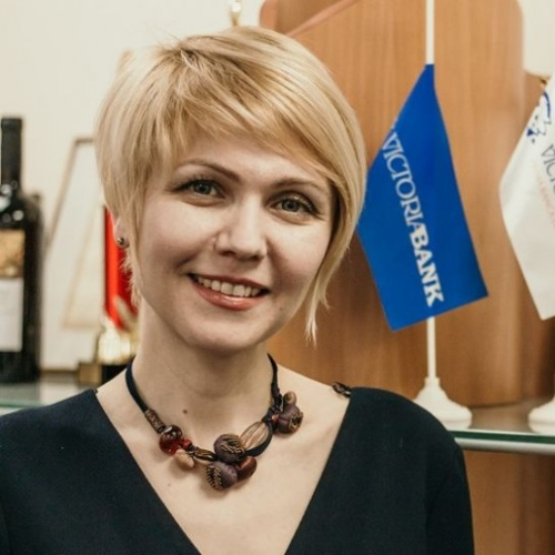 Valentina Sohotchi (HR Director of Victoriabank)