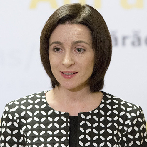 Maia Sandu (Prime Minister of the Republic of Moldova)