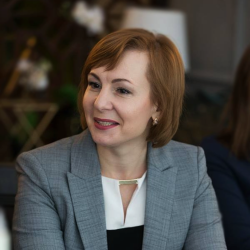 Svetlana Bodaci (HR Director of Moldcell)